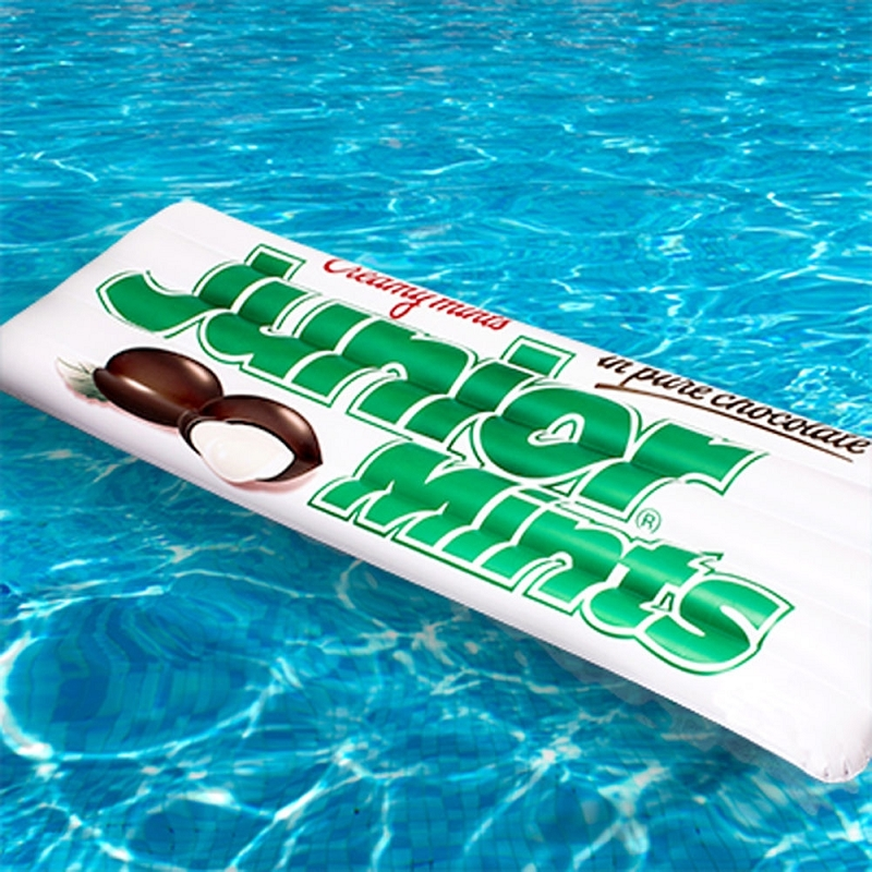 Giant Inflatable Junior Mints Pool Float