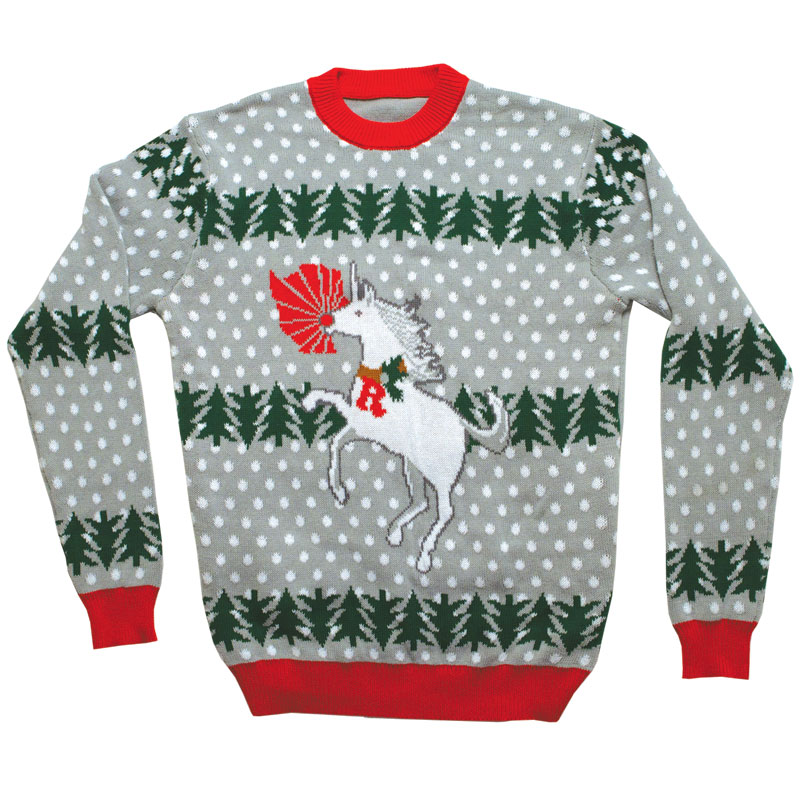 ugly christmas sweater unicorn rudolph ugly christmas sweater unicorn ...