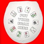 Put Your Crak Here - Toilet Seat Cover
