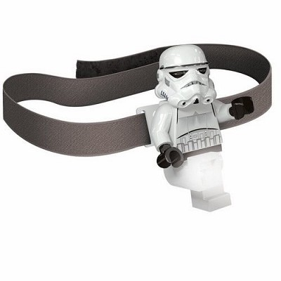 Star Wars: Lego Stormtrooper LED Head Lamp