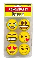 Smiley Emoji Pong Balls