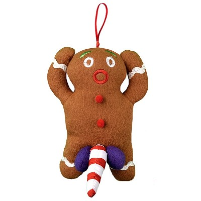 Naughty Gingerbread Ornaments