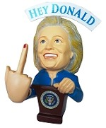 Hillary Bobble Finger