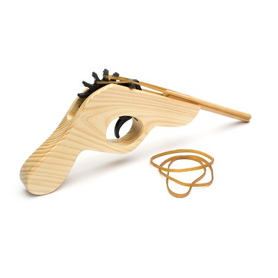 Rubber Band Wooden Shooter