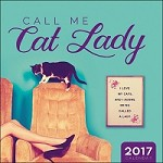 Call Me Cat Lady Wall Calendar 2017