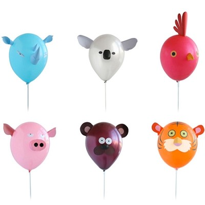 Animalz Balloon Kit - Set of 6