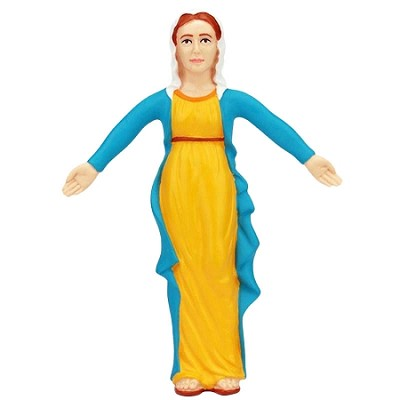 Bendable Mary- Mother of Jesus Toy