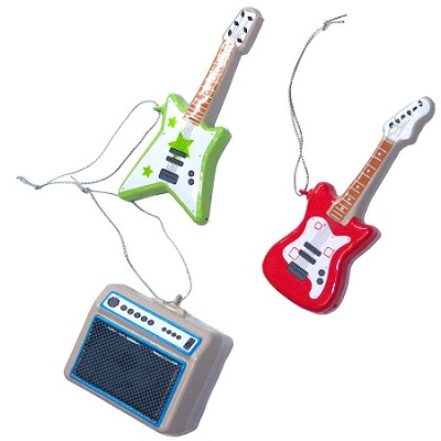 Guitar Tree Ornaments
