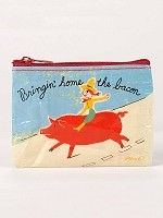 Bringin' Home the Bacon Coin Purse