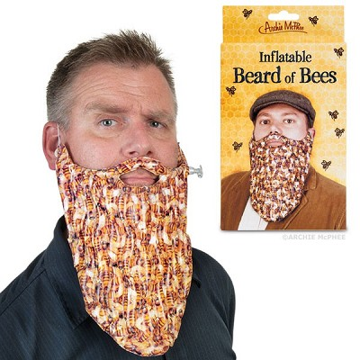 INFLATABLE BEE BEARD