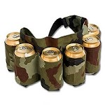 Beer Belt 6-Pack - Camouflage