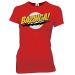 Big Bang Theory: Bazinga Junior T-Shirt