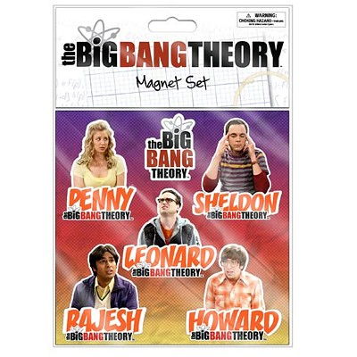 Big Bang Theory Magnet Set