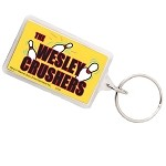 Big Bang Theory Wesley Crushers Keychain