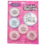 Bridal Buttons: Set of 6