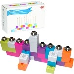 Lego Construction Block Menorah