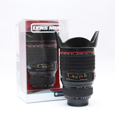 Camera Lens Travel Cup