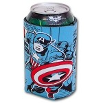 Captain America Comic Can Huggie