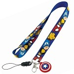 Captain America Lanyard Necklace