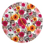 Purrfect Cat Wall Clock