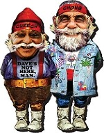 Cheech and Chong Gnome Magnet