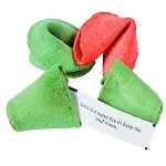 Christmas Fortune Cookies (50 pack)