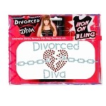 Divorce Diva Iron-On Bling
