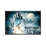 Doctor Who Magnet: Nightmare in Silver