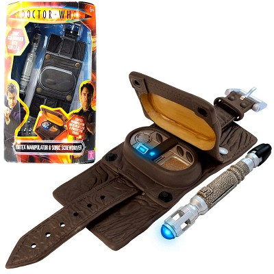 Doctor Who: Captain Jack's Vortex Manipulator and Mini Sonic Screwdriver