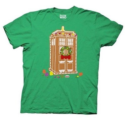 Doctor Who: Gingerbread Tardis T-Shirt