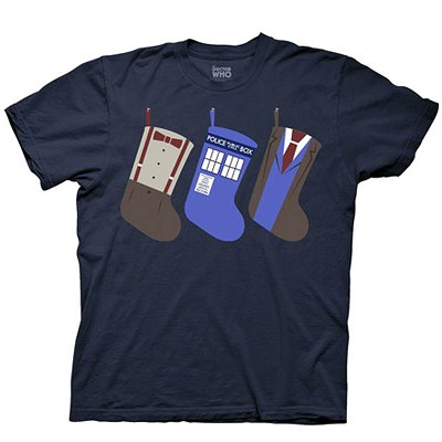 Doctor Who: Holiday Stockings T-Shirt