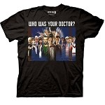 Doctor Who: Who Was Your Doctor?  Montage T-Shirt