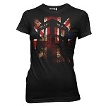 Doctor Who T-Shirt: Tardis - Union Jack