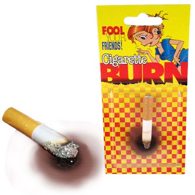 Fake Cigarette Burn
