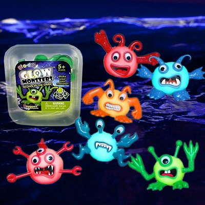 Glo-Doh Monsters