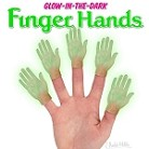 Glow-In-The-Dark Finger Hand