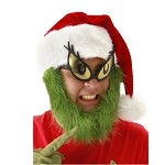 Grinch Hat w/ Beard