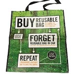 Buy, Forget, Repeat Shopping Bag