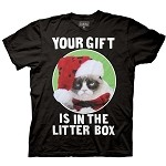 Grumpy Cat 'Your Gift is in the Litter Box' Shirt