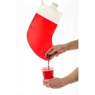 Santa's Flask Drink Dispenser