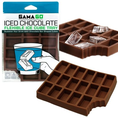 Iced Chocolate Ice Cube Tray