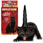 Inflatable Unicorn Horn for Evil Cats
