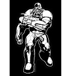 Justice League Car Decal: Cyborg