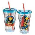 Marvel Wolverine 18 oz. Acrylic Travel Cup