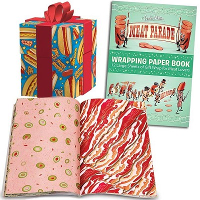 Meat Parade Wrapping Paper