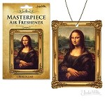 Mona Lisa Masterpeice Air Freshener