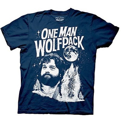 "The Hangover Shirt: ""One Man Wolf Pack"""