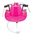 Cowgirl Drinking Hat: Pink