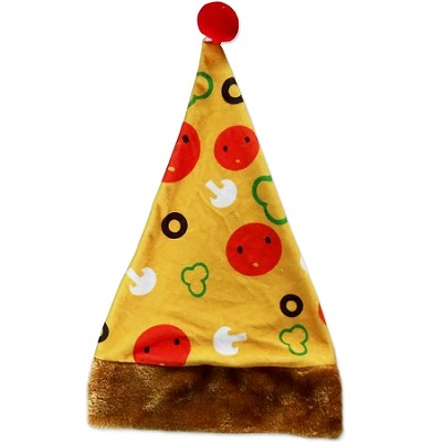 Pizza Christmas Hat
