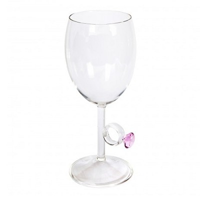 Bling Ring Wine Glass